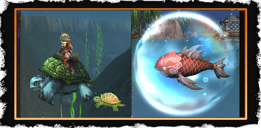 World of Warcraft fishing mount